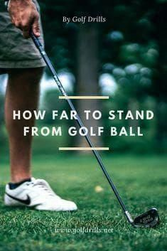 Golf Rules How far to stand from golf ball with irons or driver? Check the post and learn how to take correct distance every time on the tee box or the course. Golf Card Game, Dubai Golf, Golf Putting Tips, Golf Videos, Miniature Golf, Golf Tips For Beginners, Golf Training, Golf Irons, Golf Quotes
