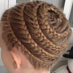 groovy #braid Treccia a spirale