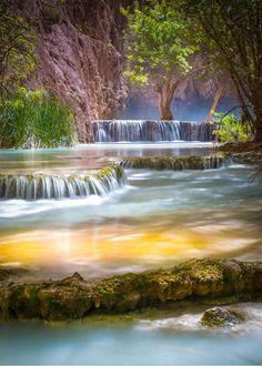 gardenofelegance: Grand Canyon, Arizona /// renamonkalou:  Havasupai Fall | Val Dostalek.