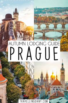 Are you planning a czech Republic trip and you still don't know where to stay in Prague? This handy guide will show you gorgeous districts in autumn in Prague, with lodging tips and ideas for a fall trip! Travel Through Europe, Europe Travel Guide, Travel Guides, Traveling Tips, Cool Places To Visit, Places To Travel, Travel Destinations, European Destination, European Travel
