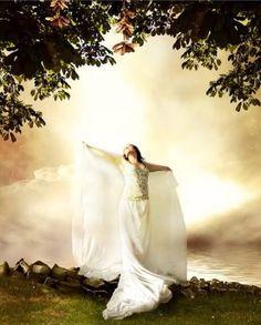 Worshiping her Beloved Jesus!