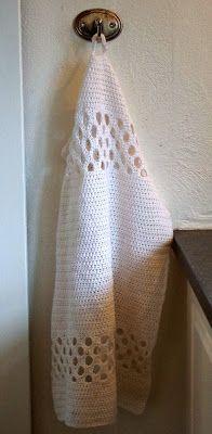 Halager: DIY - Nye hæklede håndklæder Thing 1, Ene, Knit Crochet, Crochet Patterns, Knitting, Crafts, Craft Ideas, Tips, Threading