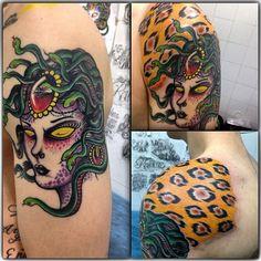 Tatuaje de Medusa realizado en nuestro centro de la Vaguada de Madrid.    #tattoo #tattoos #tattooed #tattooing #tattooist #tattooart #tattooshop #tattoolife #tattooartist #tattoodesign #tattooedgirls #tattoosketch #tattooideas #tattoooftheday #tattooer #tattoogirl #tattooink #tattoolove #tattootime #tattooflash #tattooedgirl #tattooedmen #tattooaddict#tattoostudio #tattoolover #tattoolovers #tattooedwomen#tattooedlife #tattoostyle #tatuajes #tatuajesmadrid #ink #inktober #inktattoo