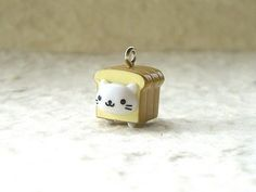 Cute Japanese Nyan Nyan Nyanko Charm  Cat Character  by DecoSweets