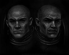 Brothers Kellendvar and Kellenkir of the Night Lords
