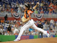 Tampa Bay Rays' right hander became the first pitcher in futures game history, going back to to win the games MVP award. Tampa Bay Rays Baseball, Top Prospects, Call Up, Future Games, Florida, Fan Shirts, Team 7, Toronto Blue Jays, S Star