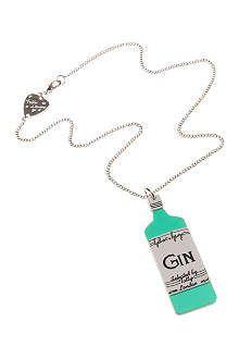 TATTY DEVINE Gilbert & George gin necklace