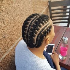 Bantu Knot Hairstyles, Natural Afro Hairstyles, African Braids Hairstyles, My Hairstyle, Kid Hairstyles, Natural Hair Bangs, Natural Hair Twists, Natural Hair Styles, Short Hair Styles