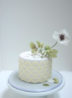 Flower Cake - Cake by Cookie Hound!