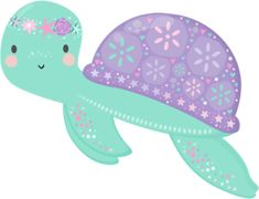 Turtle Birthday, Mermaid Birthday, Baby Mermaid, The Little Mermaid, Art Drawings For Kids, Art For Kids, Mermaid Party Decorations, Birthday Decorations, Barbie Birthday