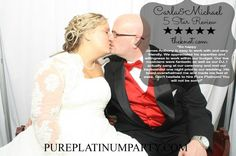Carla and Michael's 5 Star Review  #wedding #bride #groom #weddingdress #DJ #bridalgown #weddingphotos #weddingphotography #entertainment #photography #celebrate #reviews #5stars #theknot #testimonials