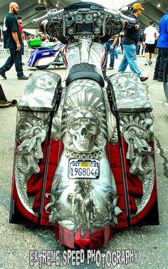 Laughlin River Run 2015 - Urban Bagger Mag's 'Baddest Bagg… Harley Bagger, Bagger Motorcycle, Harley Bikes, Motorcycle Style, Motorcycle Tips, Triumph Motorcycles, Indian Motorcycles, Cool Motorcycles, Custom Street Bikes