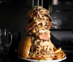 Crazy burger burger photo idea