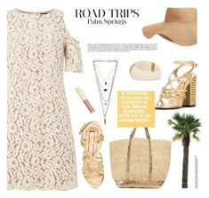 """""""Palm Springs Travel Outfits"""" by joliedy ❤ liked on Polyvore featuring Little Mistress, Hipanema, N°21, Dolce&Gabbana, Old Navy, Vanessa Bruno and Aurélie Bidermann"""