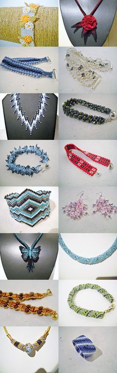 Wonderful beaded gifts. by Eva M Hermida on Etsy--Pinned with TreasuryPin.com