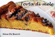 Torta mele rum e cioccolato, ricetta Noce Di Burro