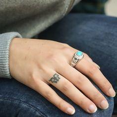Turquoise Ring Garnet Ring Lapis Lazuli Damascus Steel Gemstone Ring Birthstone Silver Ring Men Engagement Ring Native American Tribal Ring