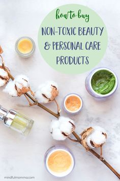 Learn how to identify non-toxic beauty and personal care products by understanding the claims, ingredients and certifications on product labels - so you can find the natural products that you can trust. Herbal Remedies, Health Remedies, Natural Cures, Natural Health, Health Tips, Health And Wellness, Healthy Life, Healthy Living, Health Vitamins