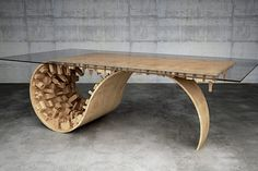<Inception> inspired table by Stelios Mousarris