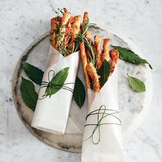 *Savoury Cheese Twists - Elevate a gift of wine with savory cheese twists, packaged with aromatic sprigs of herbs. Cheese Twists, Cafe Food, Food Packaging, Food Gifts, Food Presentation, Holiday Recipes, Holiday Appetizers, Holiday Treats, Food Styling