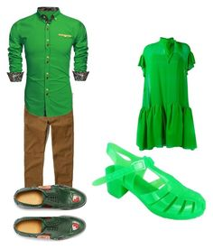 """Peter Pan"" by roxy-carter on Polyvore featuring Hollister Co., Gucci, Delpozo, men's fashion and menswear"
