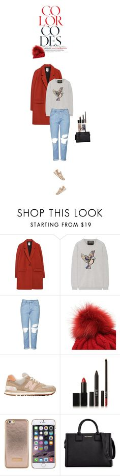 """""""Vote!"""" by elenamp07 ❤ liked on Polyvore featuring Zara, Markus Lupfer, Topshop, New Balance, NARS Cosmetics, Ted Baker, Karl Lagerfeld, differentstyle, waystowear and rockthevote"""