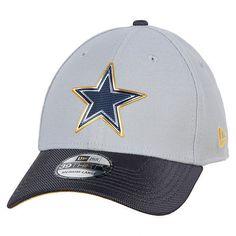 5353d512f NFL Dallas Cowboys New Era Grey Gold Collection On 39 THIRTY Flex Hat