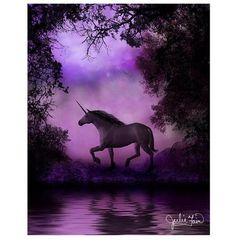 Shop Enchanted Unicorn Greeting Cards (Pk of designed by Fairy Fantasy Silhouettes by Julie Fain. Unicorn And Fairies, Unicorn Fantasy, Unicorns And Mermaids, Unicorn Horse, Unicorn Art, Magical Unicorn, Magical Creatures, Fantasy Creatures, Fantasy World
