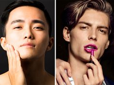 Empowerment or a threat to masculinity? Informations About Men's Makeup In China - Empowerment or Threat? Pin You can easily use my prof Beauty Routine Over 40, Diy Beauty Routine, Everyday Beauty Routine, Men Wearing Makeup, Male Makeup, Health Pictures, Eyebrow Pencil, Male Beauty, Beauty Trends