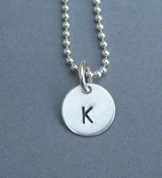Personalized Sterling Silver 3/8 inch Smaller Hand by Chain0, $32.00