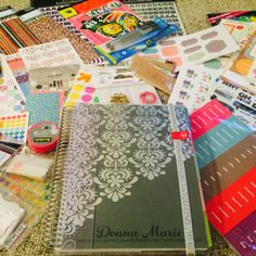 The Planner with all the Accessories