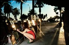Boulevard of dreams . from the Summer, French Vogue 1977 Charles Jourdan campaign. Photograph: © The Guy Bourdin Estate 2014 / Courtesy of Louise Alexander Gallery