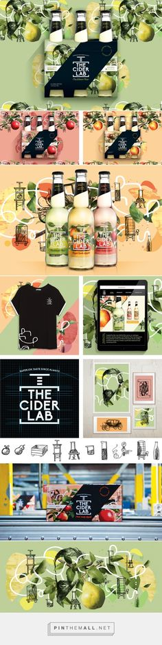 The Cider Lab - Packaging of the World - Creative Package Design Gallery - http://www.packagingoftheworld.com/2017/01/the-cider-lab.html