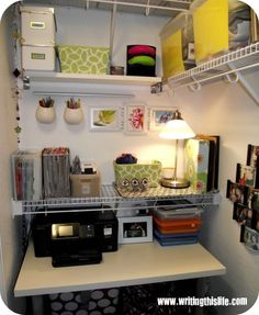 Going into the closet: to, you know, work there | Offbeat Home