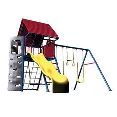 Lifetime A-Frame Playset Primary - 90137
