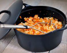 hutspot-knolselderij-koolhydraatarm Fodmap, Low Carb Recipes, Macaroni And Cheese, Clean Eating, Veggies, Menu, Ethnic Recipes, Atkins, Low Carb