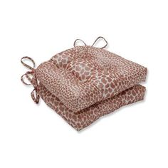 Pillow Perfect Indoor Limelight Spice Reversible Chair Pad (Set of 16 in. W X 4 in. D (Limelight Spice), Gold - Medium (Cotton, Animal) Chair Ties, Outdoor Lounge Chair Cushions, Tufted Chair, Contemporary Chairs, Perfect Pillow, Indoor, Things To Sell, Bloomsbury, Animal Prints