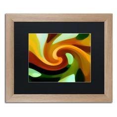 Trademark Fine Art Wind In Tree 1 Framed Wall Art - AV0180-