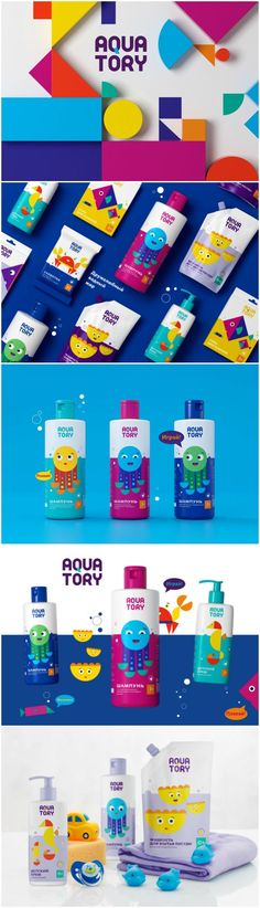 Aquatory Of Friends Packaging For Children's Products - World Brand Design Society Branding S. Kids Packaging, Food Packaging Design, Packaging Design Inspiration, Product Packaging, Medical Brochure, Aqua, Corporate Identity Design, Brand Identity, Kids Branding
