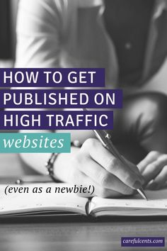 Want to get published on high traffic sites? Here's how to use Help A Reporter Out (HARO) to get your name out there (for free!). via @carefulcents