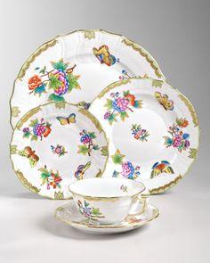 Herend Queen Victoria Dinnerware - Neiman Marcus