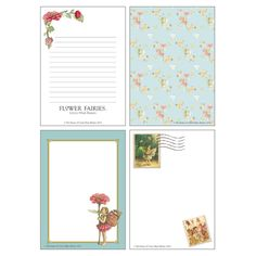 FLOWER FAIRIES Memo Pad <Zinnia> from GreenFlash