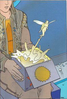 "Moebius - ""Montrouge Mystery""  2001  Stardom Editions,Paris"