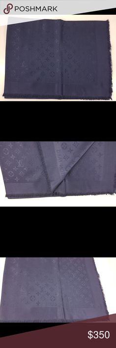 Louis Vuitton Shawl Monogram Louis Vuitton Shawl Monogram, Night Blue. Model M72412. Louis Vuitton Accessories Scarves & Wraps