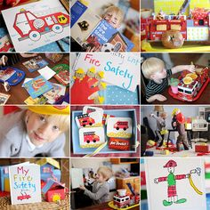Fire safety activities: after discussing fire safety you can have your students make a booklet of all the important things they have learned to see if they understand the lesson that was thought.