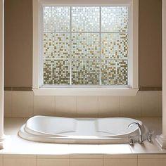 Gila® Clear Mosaic Glass Scenes Window Film | Gila Window Film