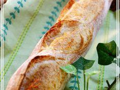 簡単♫気軽にフランスパンの画像 Bread Maker Recipes, Pastry Recipes, Baking Recipes, Cooking Bread, Bread Baking, Savoury Baking, Food Garnishes, Food Staples, Cafe Food