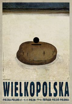 Wielkopolska Pyrlandia - Potato Land Check also other posters from PLAKAT-POLSKA series Original Polish poster designer: Ryszard Kaja year: 2013 size: Art Deco Posters, Cool Posters, Modern Posters, Saul Bass, Polish Movie Posters, Pop Art, Pub, New Poster, Vintage Travel Posters
