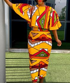 African Attire, African Wear, African Women, African Dress, African Style, African Beauty, African Fashion Skirts, African Print Fashion, Casual Dresses Plus Size