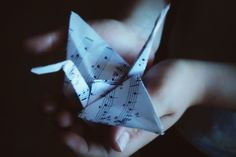 Find images and videos about music, bird and Paper on We Heart It - the app to get lost in what you love. One Line Tattoo, Line Tattoos, Origami Swan, Sweeney Todd, Brown Eyed Girls, Prison Break, Drama Queens, More Than Words, Happy Endings